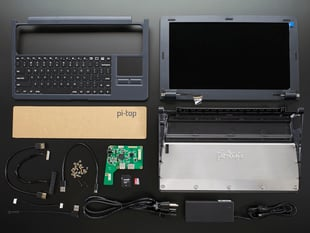 Pi-Top - GREY - A Laptop Kit for Raspberry Pi B+ / Pi 2 / Pi 3