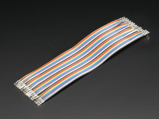 Premium Female/Female Raw Custom Jumper Wires - 40 x 6