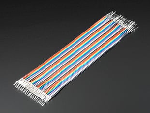 Premium Male/Male Raw Jumper Wires - 40 x 6