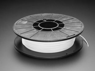 Spool of Cheetah Filament for 3D Printers - snow color with 1.75mm Diameter.