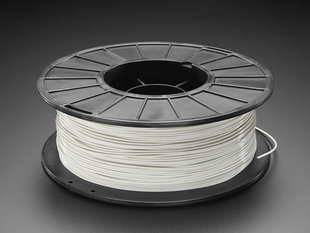 PLA Filament for 3D Printers - 1.75mm Diameter - Cool Gray - 1KG