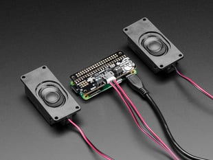Adafruit I2S 3W Stereo Speaker Bonnet for Raspberry Pi - Mini Kit