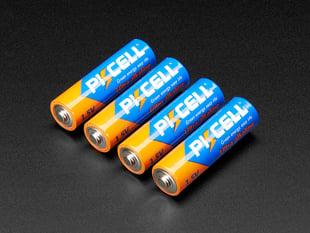 Alkaline AA batteries (LR6) - 4 pack