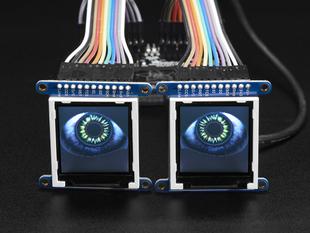 Adafruit Animated Eyes Bonnet for Raspberry Pi Mini Kit - Without Displays