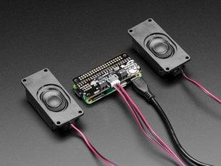 Stereo Bonnet Pack for Raspberry Pi Zero W - Includes Pi Zero W