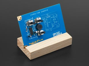 Assembled Circuit Classics Stepped Tone Generator in wooden stand