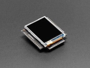 pyboard Color LCD Skin with Resistive Touch - LCD160CR v1.1