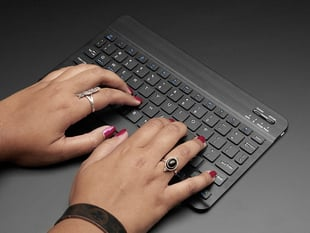 "10"" Bluetooth Keyboard – Black colored"