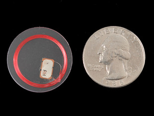 13.56MHz RFID/NFC Clear Tag - 1KB