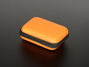 Maker-Friendly Zipper Case - Orange