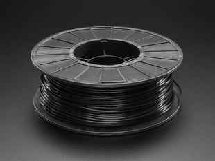 PLA Filament for 3D Printers - 2.85mm Diameter - Black - 1.0Kg - MeltInk