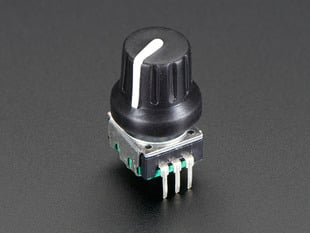 Rotary Encoder with rubbery knob