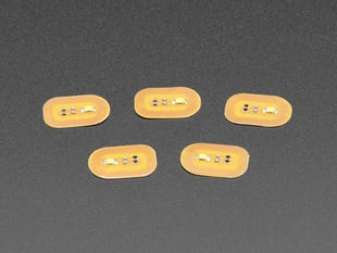 RFID/NFC Nail Stickers - 5 Pack with White LEDs