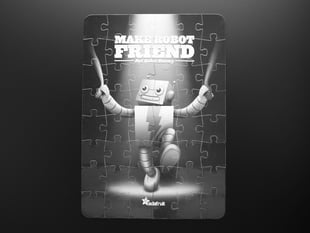 """Make Robot Friend"" Jigsaw Puzzle"