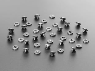 pile of Plastic Pop Rivets for Cardboard Crafts