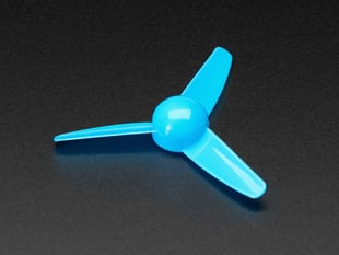 3-Bladed Trifoil Propeller Fan for DC Motor