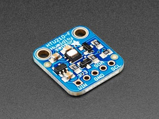 Adafruit HTU21D-F Temperature & Humidity Sensor Breakout Board - with or without Headers