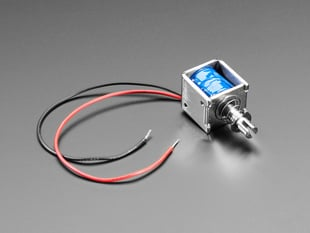 Medium Push-Pull Solenoid - 5V or 6V