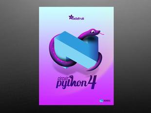 CircuitPython 4 Poster