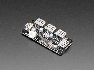 Zero4U - 4-Port USB Hub without Pogo Pins - v1.3