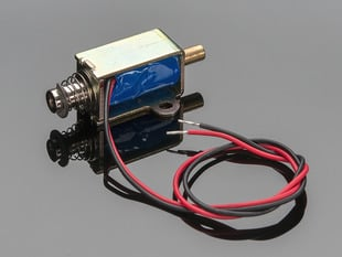 Small  push-pull solenoid