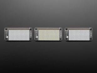 Adafruit CharliePlex LED Matrix Bonnets - 8x16 LEDs - in Various Colors
