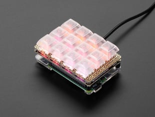 Pimoroni Keybow Mini Mechanical Keyboard Kit with Raspberry Pi - Linear (Soft) Switches
