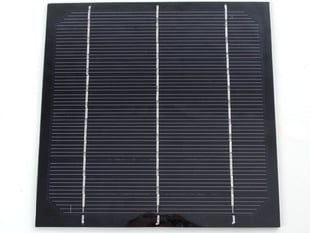 Epoxy-coated rectangular raw solar panel