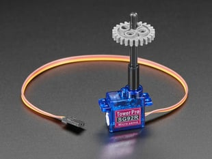 Plastic Micro Servo Adapter for LEGO Cross - 16mm long