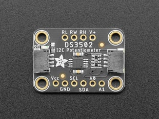 Adafruit DS3502 I2C Digital 10K Potentiometer Breakout - STEMMA QT / Qwiic