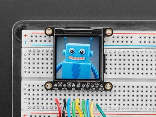 "Adafruit 1.3"" 240x240 Wide Angle TFT LCD Display with MicroSD - ST7789"