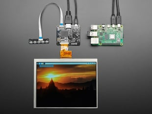 "Pimoroni HDMI 8"" IPS LCD Screen Kit - 1024x768"