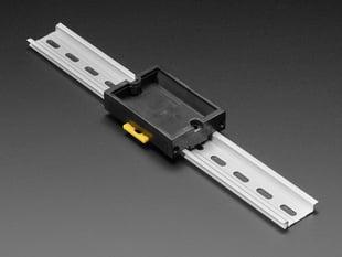 DIN Rail Generic PCB Holder - 50x80mm pocket