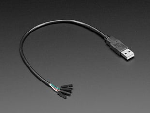 USB Type A Plug Breakout Cable with Premium Female Jumpers