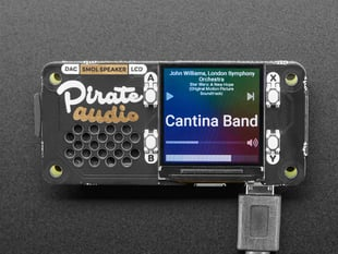 Pirate Audio: Speaker for Raspberry Pi - Built-in 1W Speaker