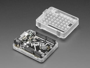 Plastic Translucent Enclosure for Metro or Arduino with Metro installed
