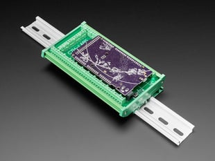 DIN Rail Terminal Block Adapter to Grand Central or Arduino Mega mounted onto DIN rail