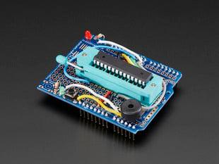 Standalone AVR ISP Programmer Shield Kit - includes blank chip!
