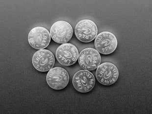 LR44 / AG13 1.5V Button Cell Batteries (10-pack)