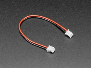 JST-PH 2-pin Jumper Cable - 100mm long