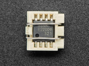 SMT Socket for Wide SOIC-8 chips