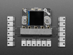 Launchpad Breakout Board for micro:bit and Adafruit CLUE - by Mission Control Lab