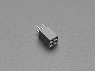 GPIO Female 2x2 4-pin Socket Riser Header for Raspberry Pi