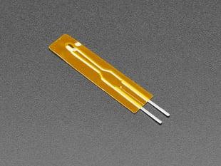 Angled shot of mini thermistor sensor.