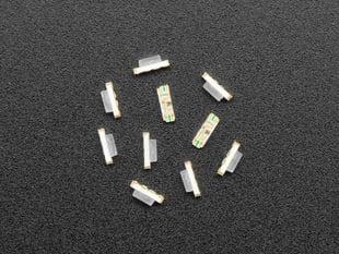 10 pack of Slim Flat NeoPixel Addressable RGB LEDs