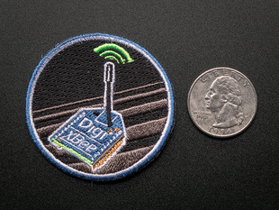 Digi XBee - Skill badge, iron-on patch