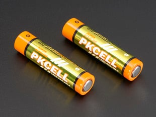 Alkaline AAA batteries - 2 pack