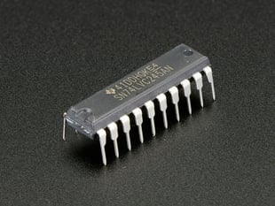 74LVC245 - Breadboard Friendly 8-bit Logic Level Shifter
