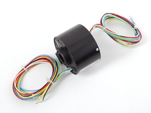 Toroid Slip Ring with 6 wires coming out of each side