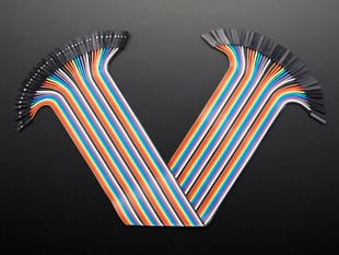 Premium Female/Female Jumper Wires - 40 x 12